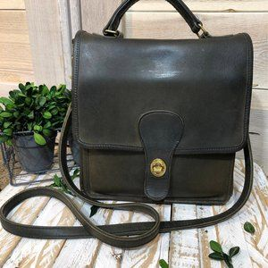 Vintage Coach Willis Station Messenger Bag